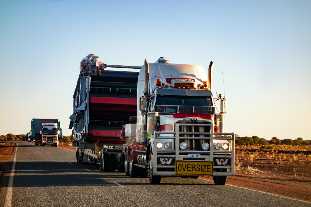 Western,Australia,-,July,11,,2018:,White,Western,Star,Truck